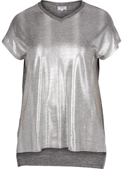 T-shirt i silver