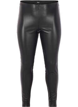 Leggings aus Lederimitat