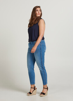 Cropped Nille-jeans